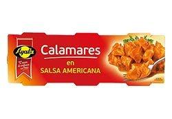 Calamares en Salsa americana Ayala 3x55 gr