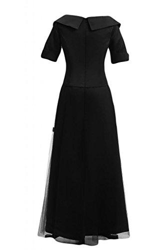 cinese Donna lunghe a Black maniche da in stile sera Sunvary 8p1Snqw8