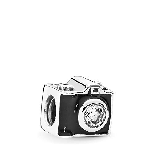 PANDORA Sentimental Snapshots Charm, Sterling Silver, Cubic Zirconia, One - Captured Bead