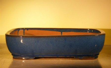 Cheap Bonsai Boy's Blue Ceramic Bonsai Pot – Rectangle 16 0 x 12 5 x 4 0