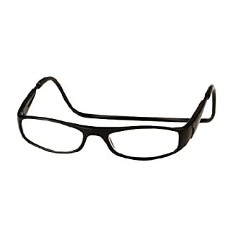 f46b4e4a377 Image Unavailable. Image not available for. Color  CliC +1.25 Diopter  Magnetic Reading Glasses  ...