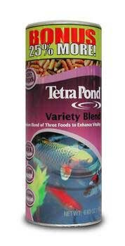 Variety Blend Sticks - Tetra Pond 16455 5.29 Oz Variety Blend Pond Fish Food