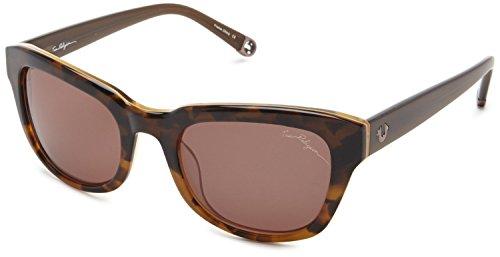 True Religion Sunglasses Heather Rectangular Sunglasses, Tort & Dark Honey, 52 - Dark Amazon Glasses True