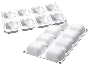 molde de silicona Gem 100 silikomart Professional: Amazon.es ...