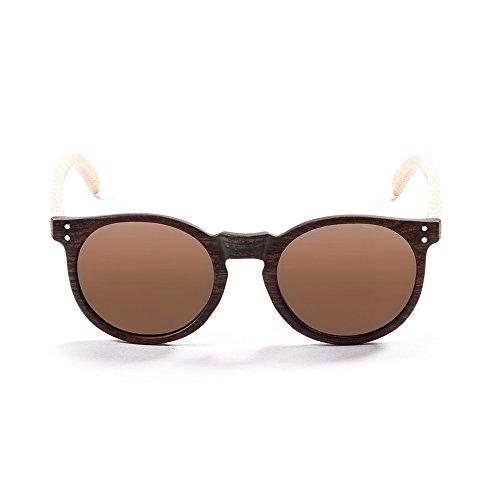 Unisexe Marrone LIZARDWOOD de Lunettes soleil Marron Ocean Sunglasses q8vgx86