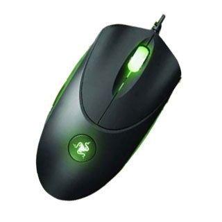 Razer De madera Chaos de color verde 2000 dpi Ratón