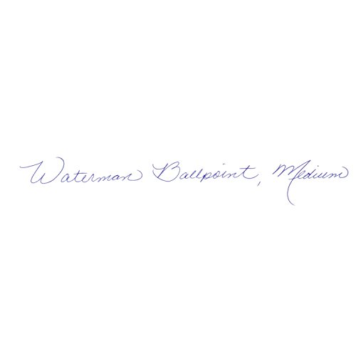 Waterman Expert Stainless Steel, Ballpoint Pen with Medium Blue refill (S0952100) by Waterman (Image #4)