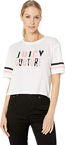 Juicy Couture Women's Sliced Juicy Graphic Tee White ()