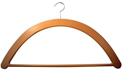 Slabbinck Brand Wood Tone Vestment Hanger with Metal Hook, 23 Inch