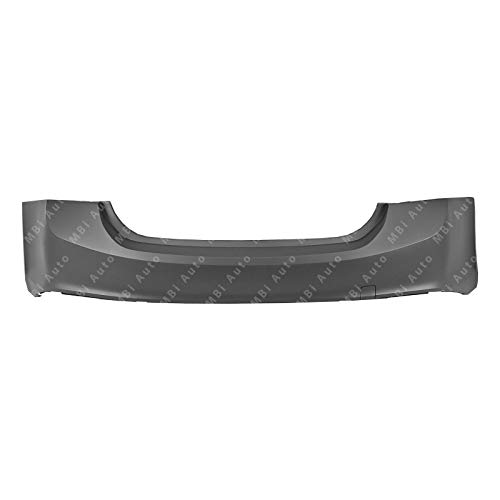 MBI AUTO - Painted to Match, Rear Bumper Cover Replacement for 2016 2017 2018 Chevy Malibu 16 17 18, -