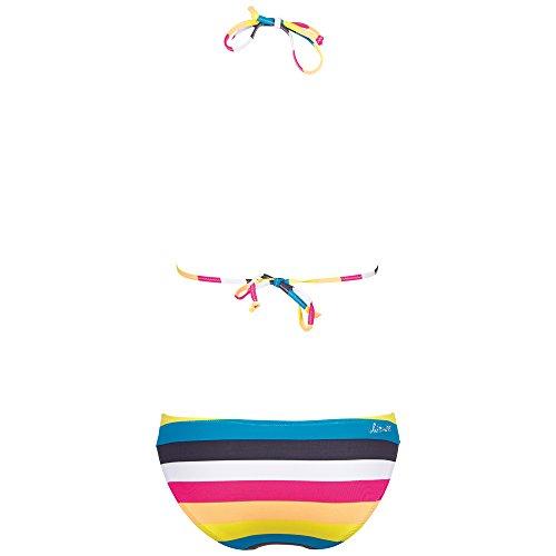 Chiemsee Triangle Bikini Badeanzug Tankini Edyta - Bikini para mujer Rosa (Stripe Cabaret)