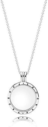 Pandora Women's Silver Pendant Necklace - 590529-60: Buy Online at ...