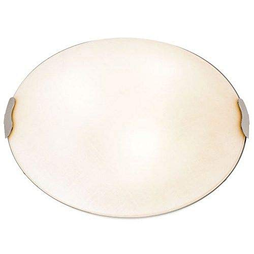 (Linen 2 Light Flush Mount Size: 4.5
