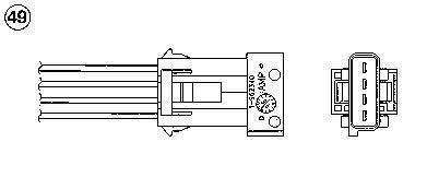NGK 0481 lambda Sensors: