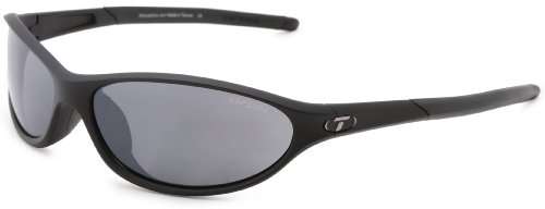Tifosi Alpe 2.0 Dual Lens Sunglasses,Matte Black,62 - Triathlete Sunglasses