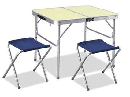 Sacar tavolo per pic nic con sgabelli cm taglia unica