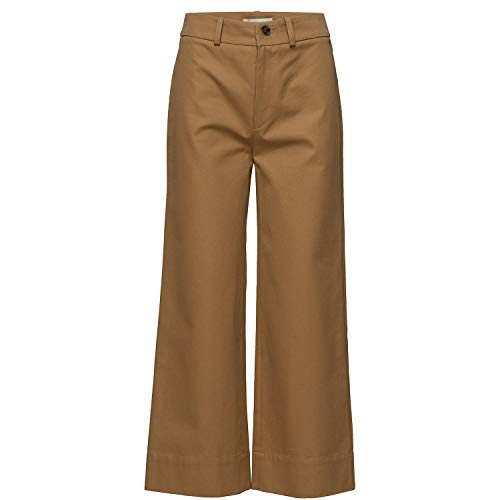 Aeron Womens Big Pocket Wide Leg Pants Biscuit 38