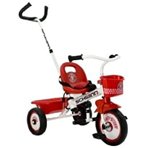 Toy / Game Heavy Duty Schwinn Easy Steer Tricycle White - Heavy Duty Tricycle Frame With Steering System
