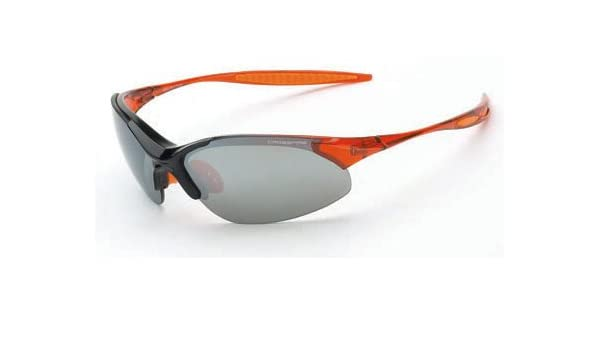 ff3b77c059f 12 Pack Crossfire 1583 Cobra Safety Glasses Silver Mirror Lens - Shiny Black    Crystal Burnt Orange Frame - - Amazon.com
