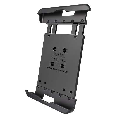 RAM Tab-Tite Spring Loaded Holder for 8 Tablets with Cases