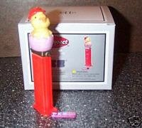 Pez Chick Porcelain Hinged Box PHB Midwest of Cannon Falls (Cannon Falls)