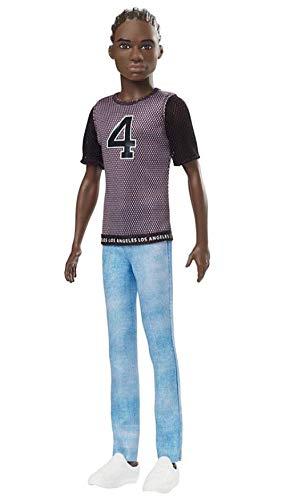 Boneco Ken Fashionistas - 130 Vestindo T-Shirt