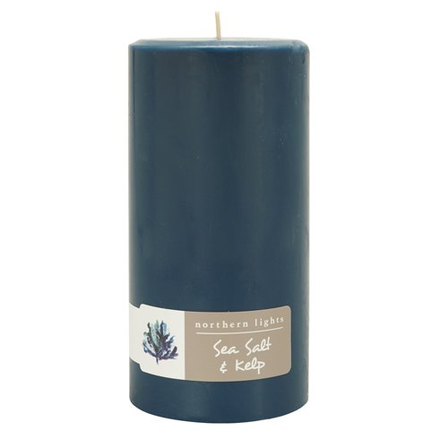 Northern Lights Sea Salt & Kelp Fragrance Palette Pillar ...