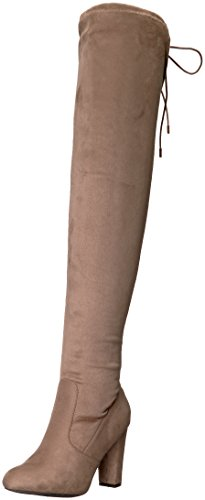 Brinley Co Women's Milan Over The Knee Boot Taupe clearance fast delivery quality from china wholesale uWYaTiz
