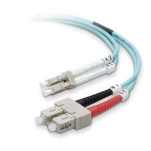 Belkin OM3 LO Multimode Aqua FO LC/SC 50/125 10Gb Cable - Upc Wiki