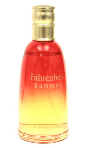 Fahrenheit Mens Discount Fragrance (Fahrenheit Summer Fragrance by for Men 3.4 oz Eau de Toilette)