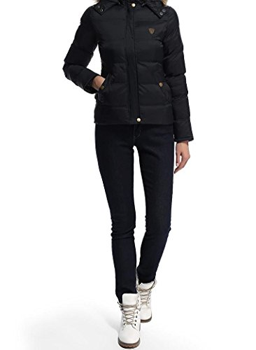 Noir Femme Unique Shelikes Blouson Taille n16PYx