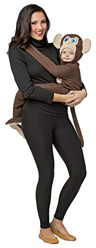 Rasta Imposta Baby Boy's Huggable Monkey Outfit Comical Theme Infant Halloween Costume, Infant 3-9M Brown for $<!--$34.95-->
