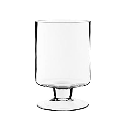 CYS EXCEL Glass Hurricane Candle Holders