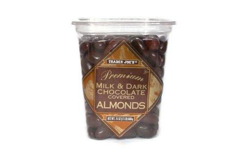 Trader Joes Premium Chocolate Almonds