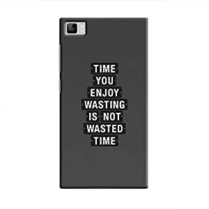 Cover It Up - Not Wasted Time Mi3 Hard Case