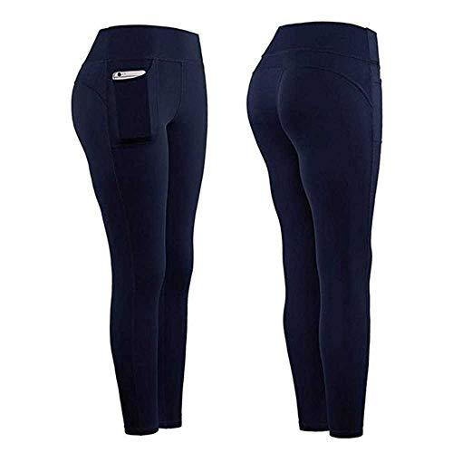 Winter Pockets Leggings Women Slim Fit High Waist Stretch Yogaes Legging Solid Skinny Warm Sports Pencil Pants Ladies…
