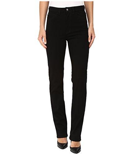 FDJ French Dressing Jeans Women's Suzanne Straight Leg/Love Denim in Black Black Jeans