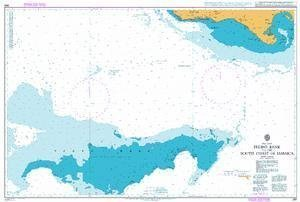 Ba Diagramm 260  Pedro Bank to the South Coast of Jamaica von UNITED KINGDOM Hydrographic Büro