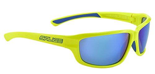 Salice 001RW Sonnenbrille, Gelb/RW Blau