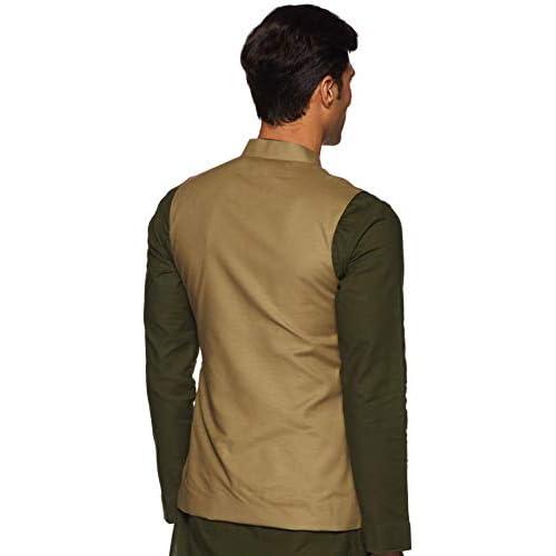 31CfjcTqs%2BL. SS500  - The Indian Garage Co Men's cotton Waist Coat