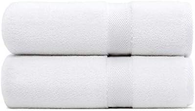 Standard Textile Hotel Luxury Lynova 100% Cotton Bath Towels, Set of two