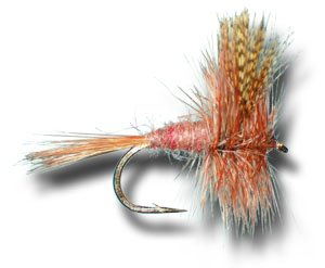 American March Brown Fly Fishing Fly - Size 16 - 3 (March Brown Mayflies)