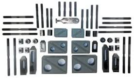 5//8-11 T-Slot:3//4 Model . 52 STUD SIZE 20424 Style TE-CO 52 Piece Deluxe Clamping Set Heavy duty Number of Pieces