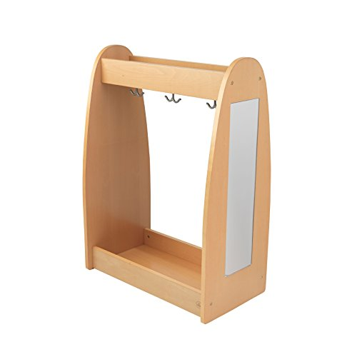 KidKraft Dress Up Unit Natural with Hooks -