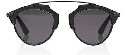 77a3cd14bcf6 Amazon.com: New Christian Dior SO REAL RLS/LY matte black/matte black dark  gray Sunglasses: Clothing
