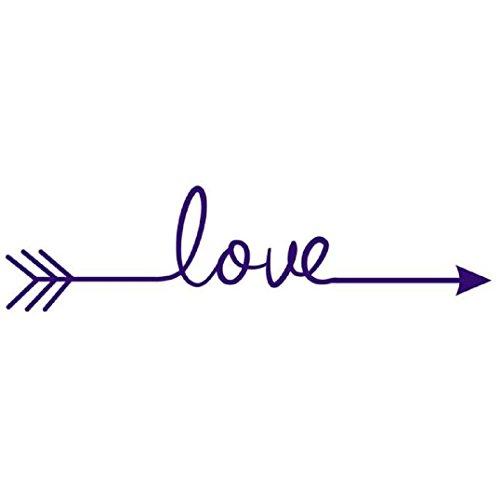Wall Sticker Saingace Home Decor Love Arrow Decal Living