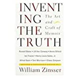 img - for Inventing the Truth: The Art and Craft of Memoir, Revised and Expanded Edition 2nd revise & expande edition by Annie Dillard, Russell Baker, Jill Ker Conway, Ian Frazier, (1995) Paperback book / textbook / text book