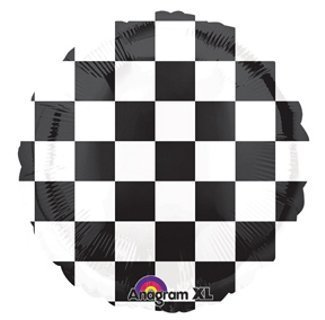 Burton & Burton Race Party Black and White Check 18
