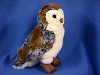 Cabin Critters Barn Owl Plush Toy (Plush Barn Owl)