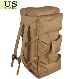 90L Large Travel Hiking Camping Military Tactical Backpack Rucksack Luggage Bag